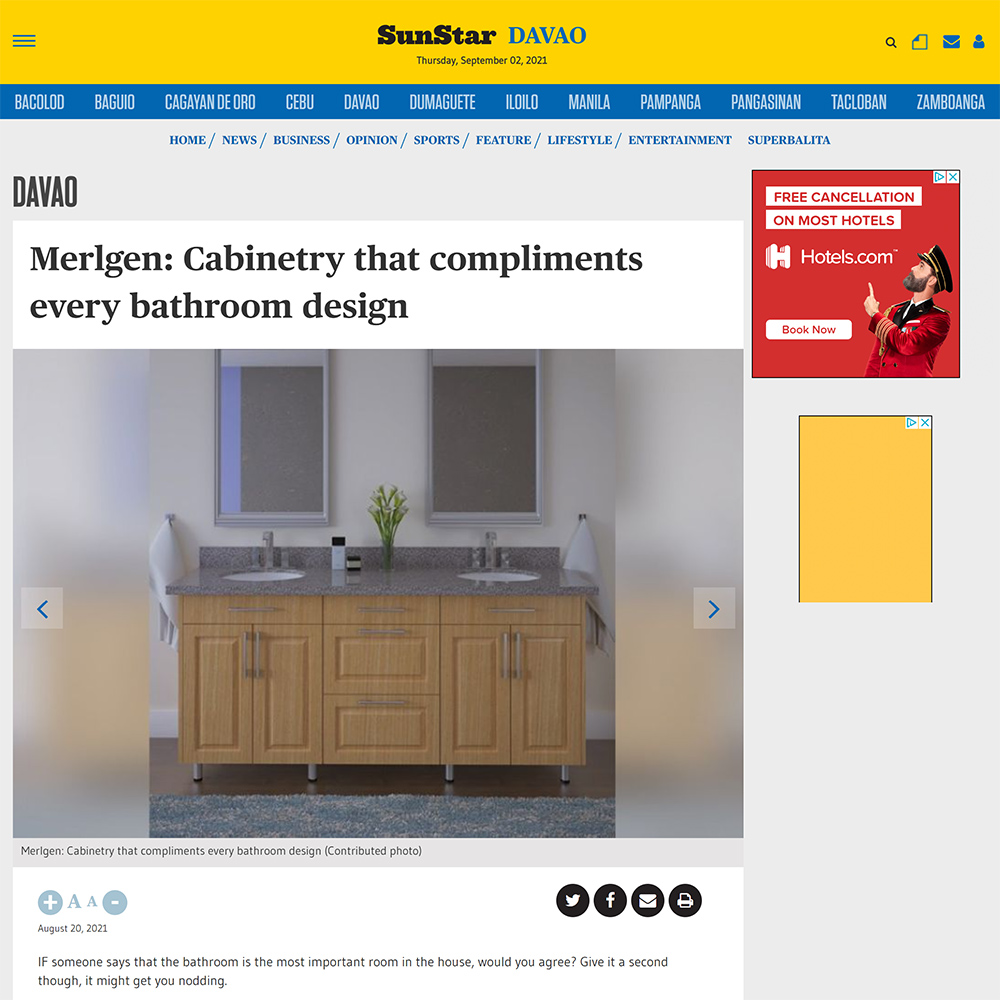 Wood Cabinets or Modern Cabinets for Your Bathroom